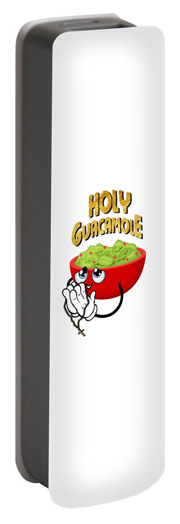 Portable Battery Charger - Holy Guacamole