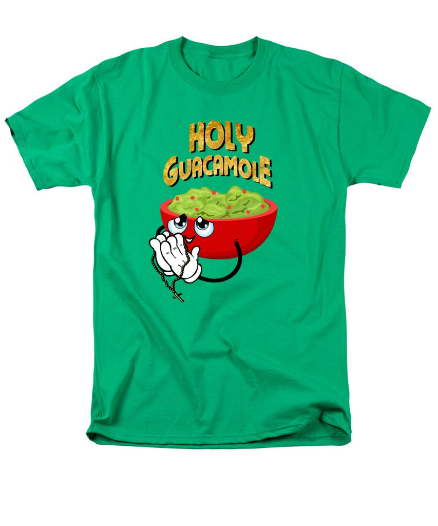 Men's T-Shirt  (Regular Fit) - Holy Guacamole - SustainTheFuture.us - The Natural and Organic Way of Life