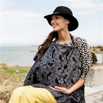 Organic Nursing Cover - Midnight