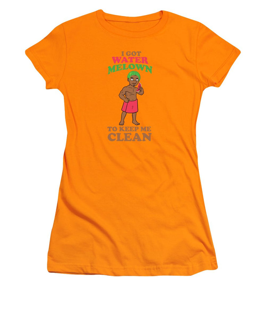 Women's T-Shirt (Junior Cut) - I Got Water Melon