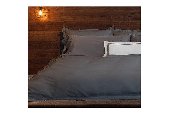 Hemmed Duvet Cover - Lustrous sateen weave that has been meticulously crafted - SustainTheFuture.us - The Natural and Organic Way of Life