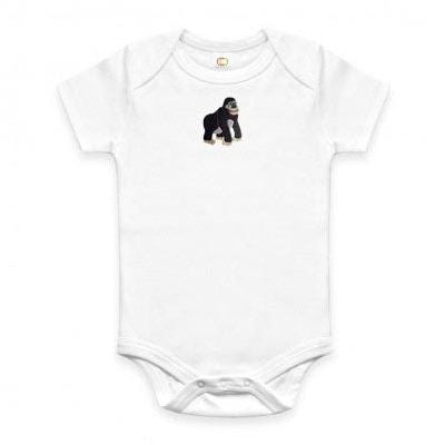 Just Cause Gifts That Give Back - Organic Gorilla Onesie