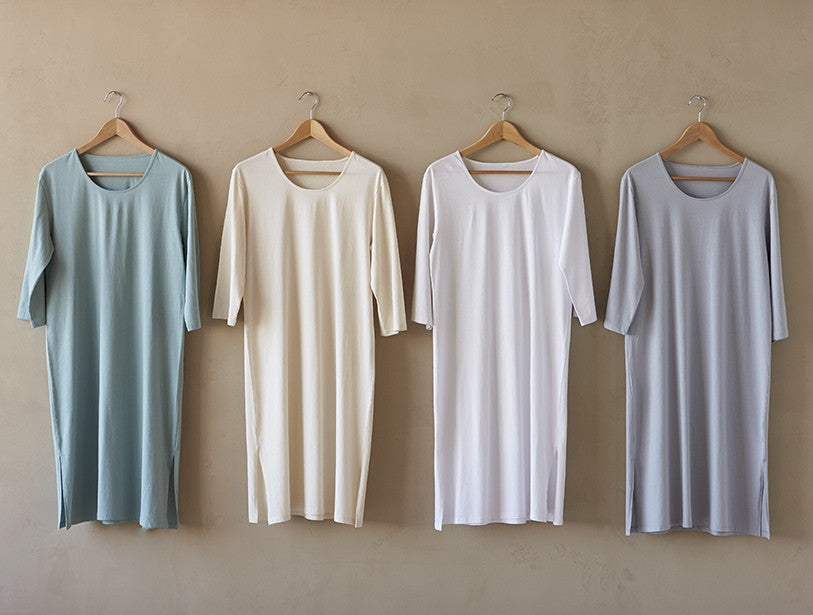 Classic Jersey Nightgown. 100% organic cotton. - SustainTheFuture.us - The Natural and Organic Way of Life