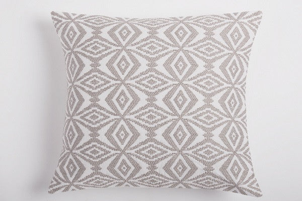 Kaleidoscope Embroidered Pillow. are embroidered on our organic cotton pillow - SustainTheFuture.us - The Natural and Organic Way of Life