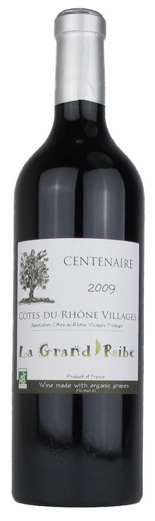 LA GRAND RIBE CENTENAIRE COTES-DU-RHONE VILLAGES 2009 - SustainTheFuture.us - The Natural and Organic Way of Life