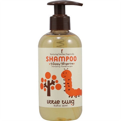 Organic Baby Shampoo - Little Twig Happy Tangerine
