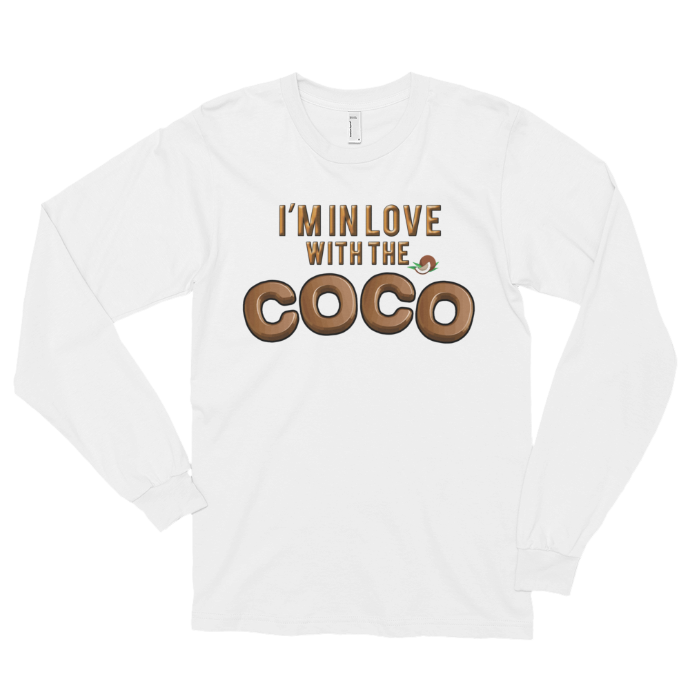Long sleeve t-shirt (unisex) CoCo • Long sleeves • Cuffed hands • Durable ribbed neckband - SustainTheFuture.us - The Natural and Organic Way of Life