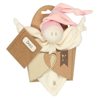 Organic Baby Toys - Keptin-Jr. Little Zmooz - Available in Pink and Blue
