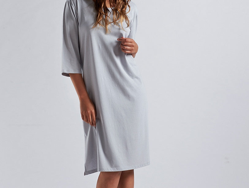 Classic Jersey Nightgown. 100% organic cotton.
