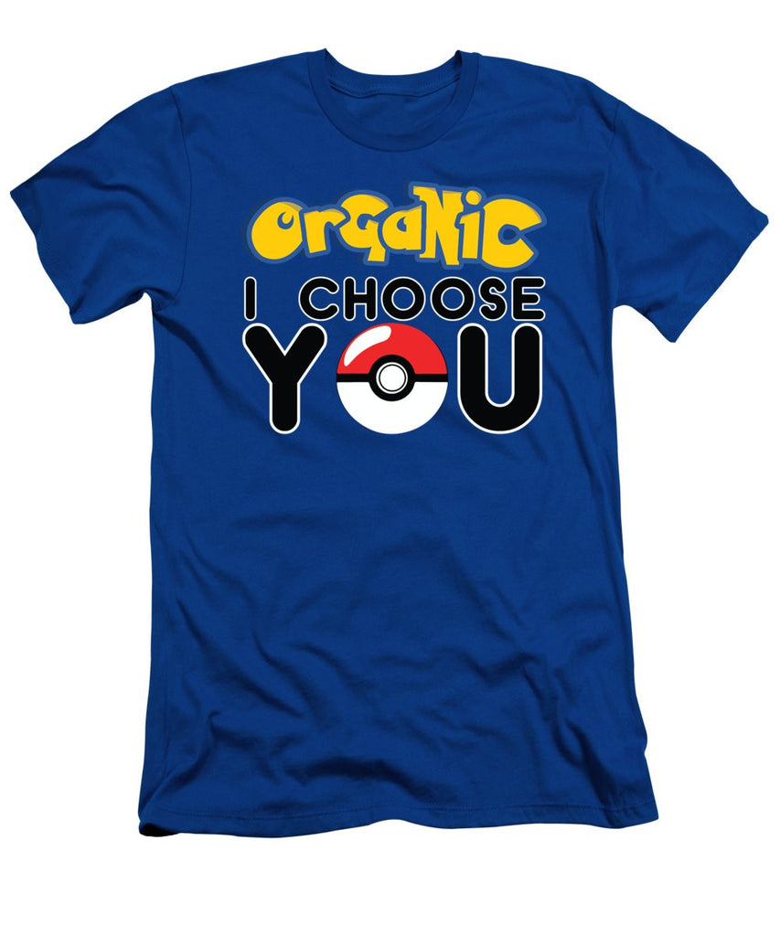 Men's T-Shirt (Slim Fit) - Organic I Choose You