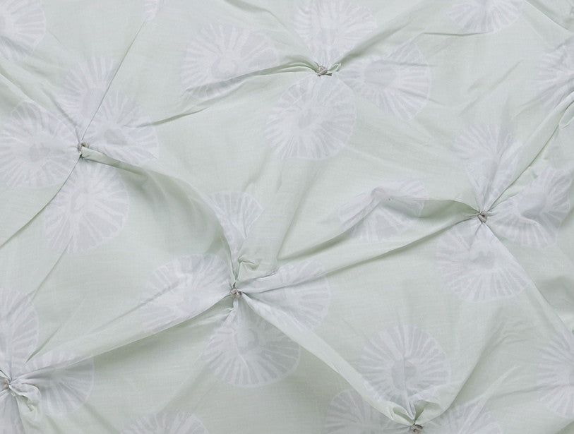 Pansy Duvet & Sham Set. 100% organic cotton