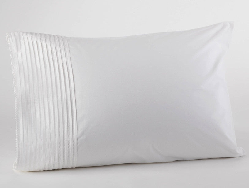 Pintuck 300 Percale - our 300-thread-count percale fitted sheet