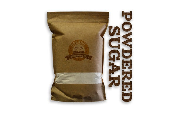 Organic Powdered Sugar - 1lb Bag - Kosher, NON GMO, Gluten Free