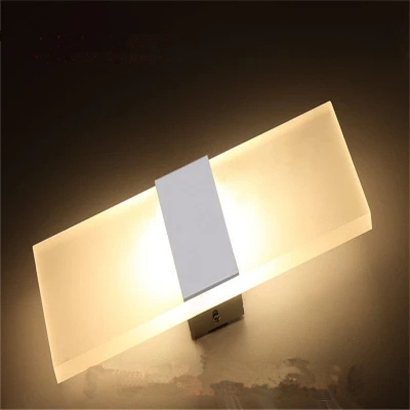 12W Led Wall Light UP & Down AC220V AC110V  Stair Bedside Lamp Bedroom reading wall lamp Porch Stair Decoration light - SustainTheFuture.us - The Natural and Organic Way of Life