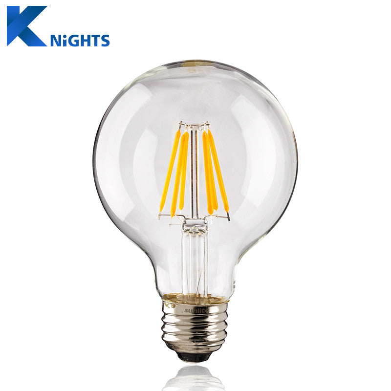 Antique Retro Vintage LED Edison Bulb E27 LED Filament Light G45 G80 G95 AC220V 240V 2W 4W 6W 8W Lampada LED Glass Bulb