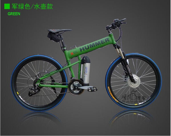 26 inch double disc brake folding electric bike power lithium battery storage battery car ten-speed bicycle instead of walking