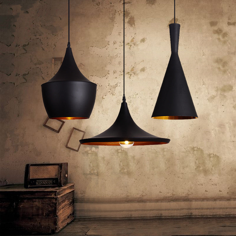 2016 new pattern American country style art pendant light Retro hanging lamp black 110v 220v with 5w bulb for Dining room living - SustainTheFuture.us - The Natural and Organic Way of Life