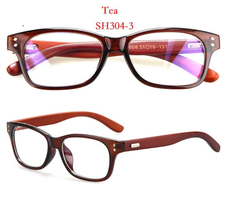 2016 New Retro Bamboo Optical Eyeglass Frame Nature Wood Men Women Woo