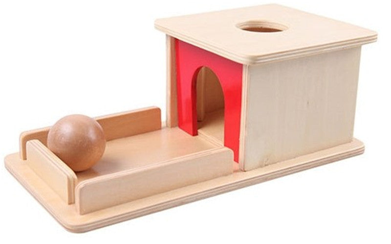 New Wooden Baby Toy Montessori Wood Permanent goal box Learning Educational Preschool Training Baby Gifts