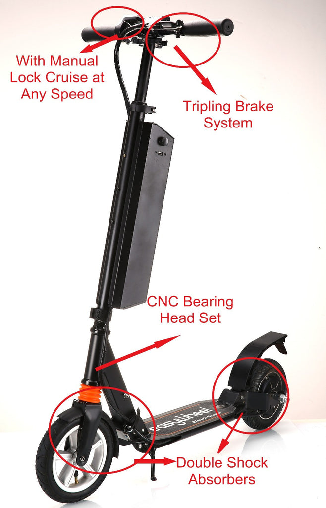 24V 250W Electric Working Scooter Carry by Yourself any Where and Time Lazy Bike Foldable