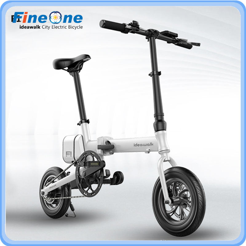 2016 12Inch IDEAWALK F1 China Electric Bicycle Green Energy E-Bike Scooter Folding Powerful Electric Bike With Pedal and Battery