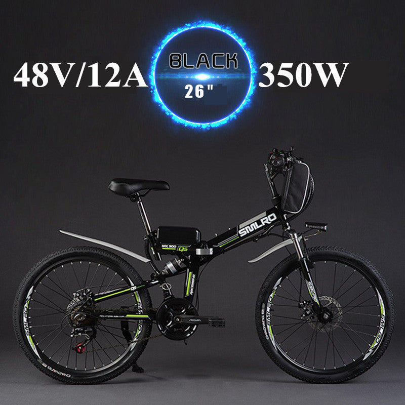"24"" 26""folding electric bike 48V 300/350W 12A 21speed lithium battery power car electric bicycle"