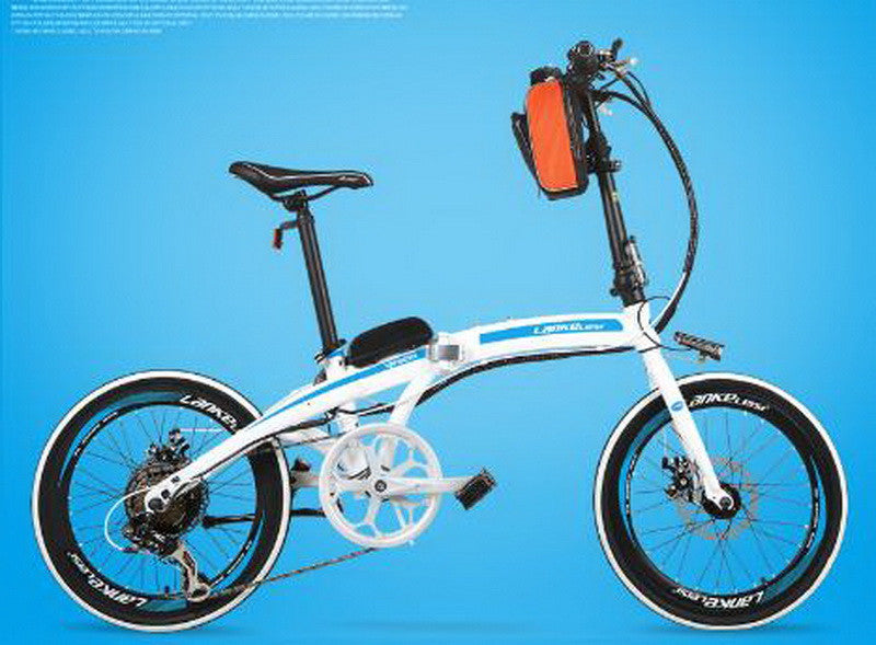 Electric bicycle/20-inch 36 v/Ultra-light/Electric folding car/Lithium battery Energy-saving motor/Aluminum alloy rim/tb311105