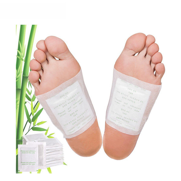 2Pcs Kinoki Detox Foot Pads Organic Herbal Cleansing Patches Plaster Improve Sleep Bamboo Massage Relax Pain Relief B010 - SustainTheFuture.us - The Natural and Organic Way of Life