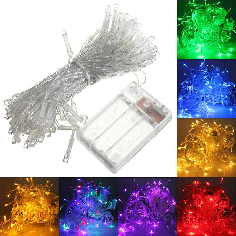 4M 40 LED Battery Operated LED String Lights for Xmas Garland Party Wedding Decoration Christmas Flasher Fairy Lights On Sale - SustainTheFuture.us - The Natural and Organic Way of Life