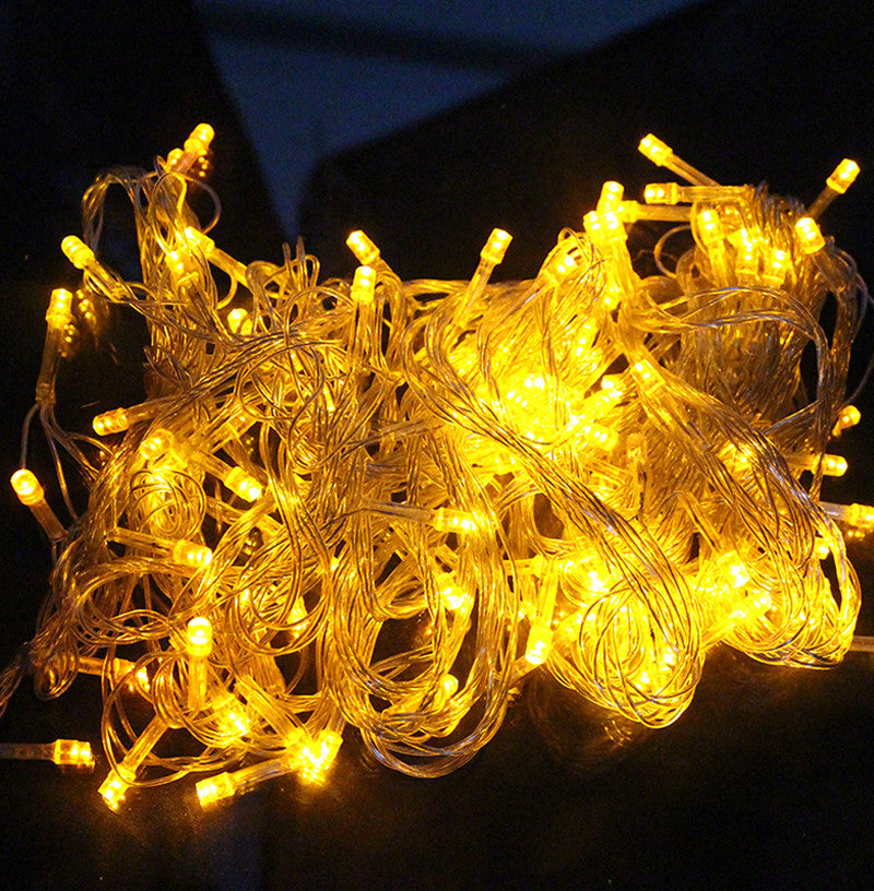 10M 100 LED Home Outdoor Holiday Christmas Decorative Wedding xmas String Fairy Garlands Strip Party Lights free shipping - SustainTheFuture.us - The Natural and Organic Way of Life