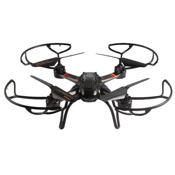 Mould King UFO 33041A RC Drones 2.4G 4CH 6 Axis Gyro Hover Quadcopter with Propeller Protector Light Remote Control Helicopter