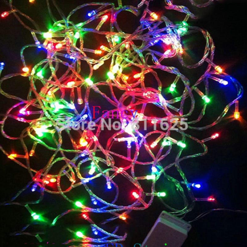 200 LED 20M String Fairy Lights Christmas Xmas 64ft Garland decoration Wedding party Decoration Colourful Blue White Yellow Pink - SustainTheFuture.us - The Natural and Organic Way of Life