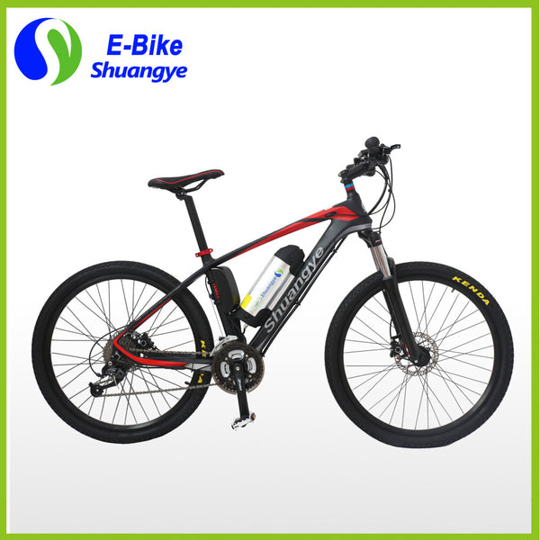36v 250w carbon fiber frame electric mountain bicycle - SustainTheFuture.us - The Natural and Organic Way of Life