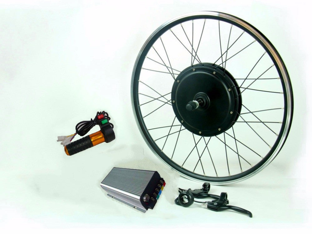120Kph 96V 3000W  electric bike conversion kit with 45H magnets 3000W motor,sine wave controller for rear electric bicycle - SustainTheFuture.us - The Natural and Organic Way of Life