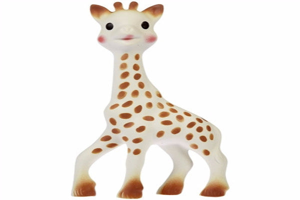 Sophie the Giraffe - Made from all natural rubber