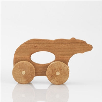 Wooden Car Made in the USA - Tree Hopper Bear Jalopy