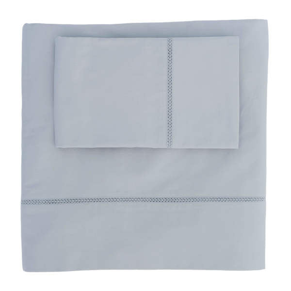 Trimmed Sheet Set - 100%-certified organic with eco-friendly
