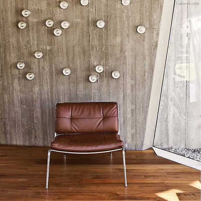 14s/sp Indoor/Outdoor Wall Sconce By Omer Arbel for Bocci