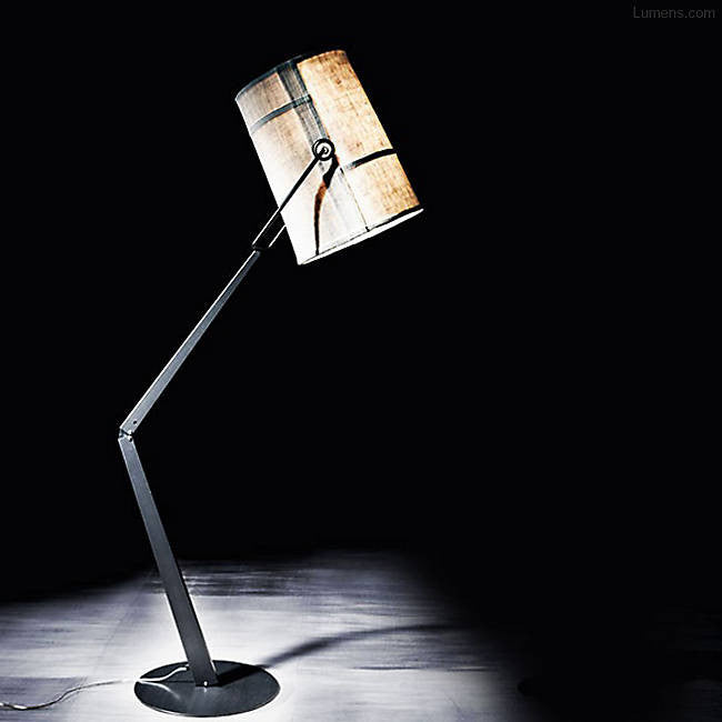 Fork Adjustable Floor Task Lamp By Diesel for Diesel by Foscarini