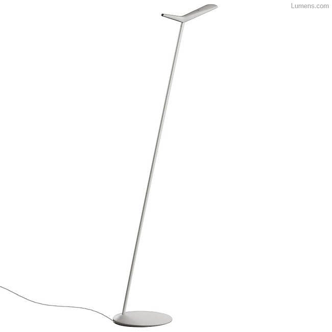 Skan LED Reading Floor Lamp By Alberto Lievore, Altherr for Vibia