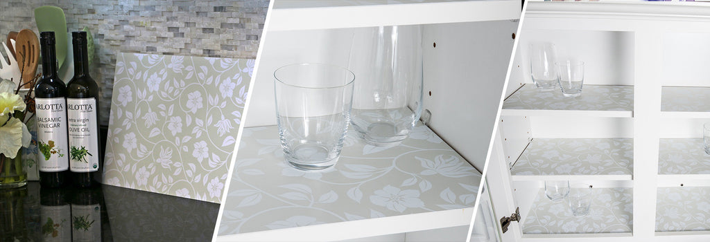 Kitchen Shelf Liners | Alternative to Contact Paper ...