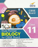 10 in One Study Package for CBSE Biology Class 11 with 3 Sample Papers-Disha Publication-Helmetdon