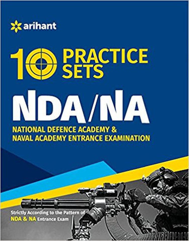 10 Practice Sets NDA & NA Entrance Exam-Books-TBHPD-Helmetdon
