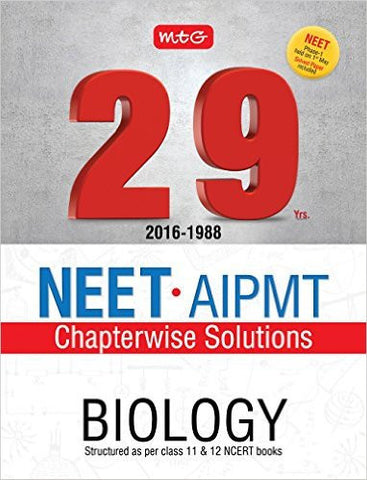 29 Years NEET-AIPMT Chapterwise Solutions - Biology-Books-TBHPD-Helmetdon