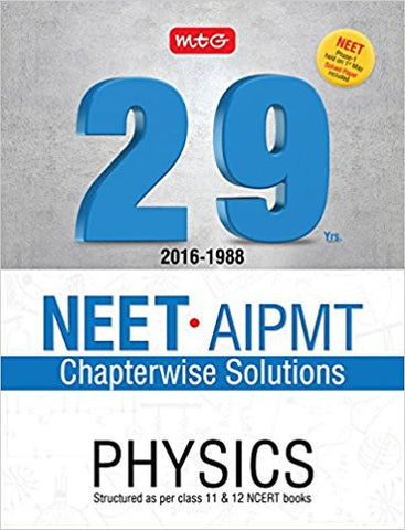 29 Years NEET-AIPMT Chapterwise Solutions - Physics-Books-TBHPD-Helmetdon