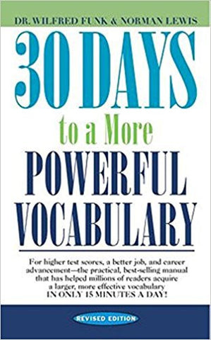 30 Days to a More Powerful Vocabulary-Books-TBHPD-Helmetdon