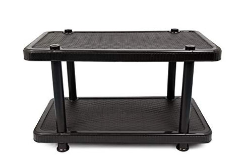 Esquire Plastic Centre Coffee Table/Cosy Table/Tea Table/Teapoy- Big (Black)