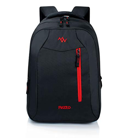 PAZZO Recruit - 3 Compartment 32L Laptop Backpack/Office Bag/School Bag/College Bag/Business Bag/Unisex Travel Backpack for Men, Women