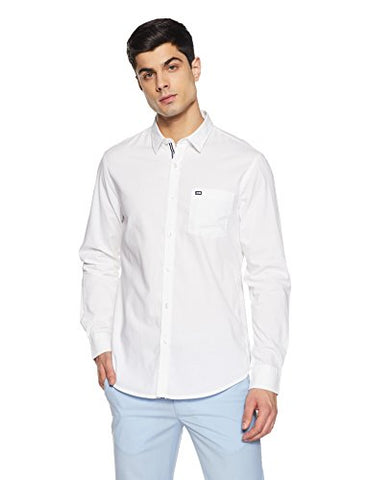 Arrow Sport Men's Casual Shirt (8907378741950_ARES0864A_40_White)