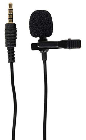 Fair Deals 3.5mm Clip Microphone For Youtube, Collar Mike For Voice Recording, Lapel Mic Mobile, Pc, Laptop, Android Smartphones, Dslr Camera